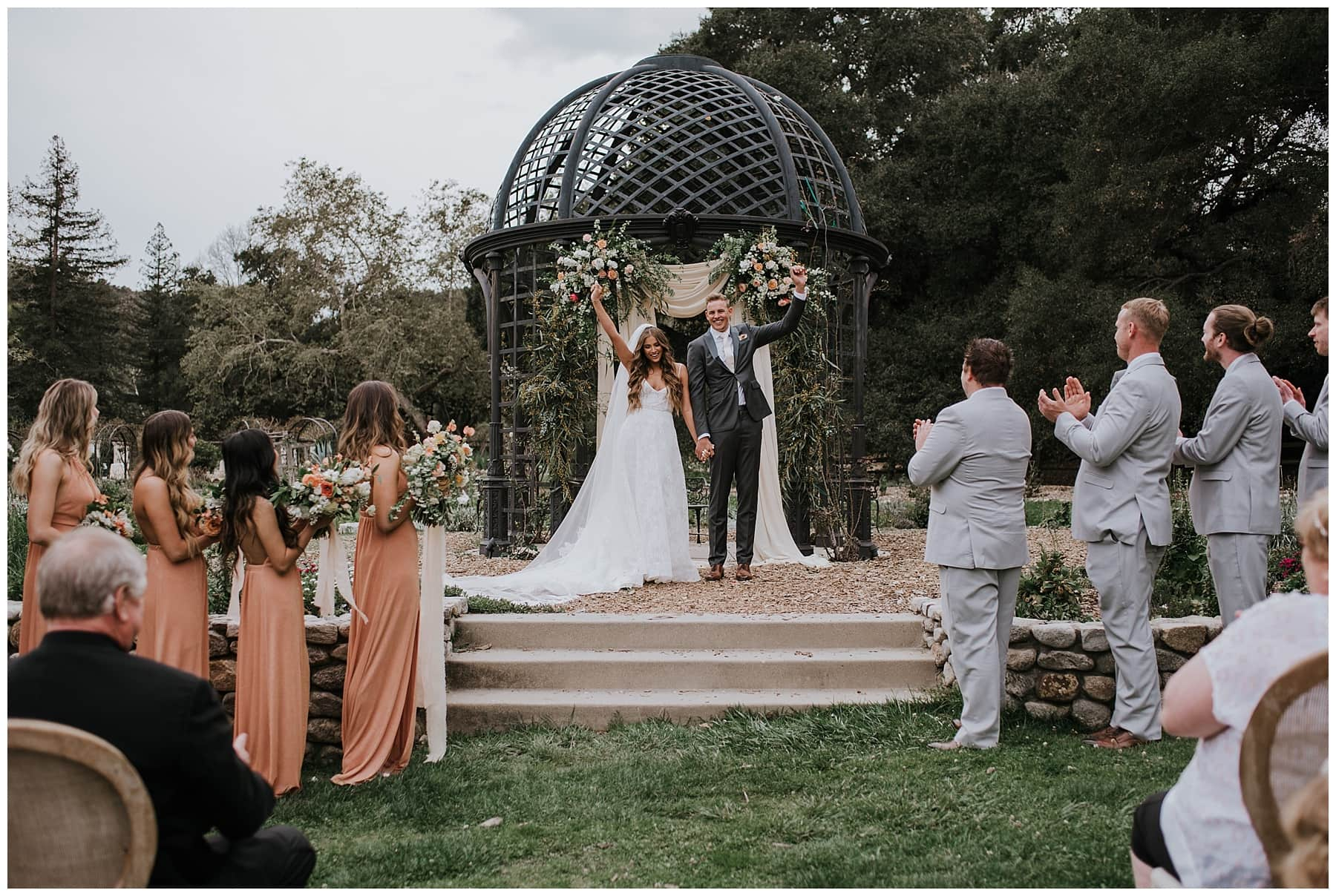 Jamie Blake Descanso Gardens Wedding Pasadena Ca